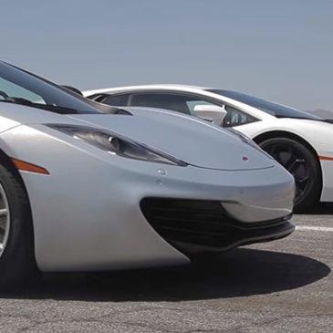 Bugatti Veyron vs Lamborghini Aventador vs Lexus LFA vs McLaren MP4-12C.